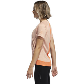 adidas 25/7 Rise Up N Run SS Tee Women glossy pink